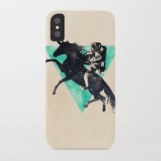 Ride the universe iPhone Case