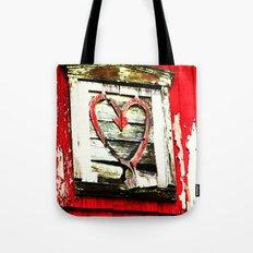 Barn Heart Tote Bag