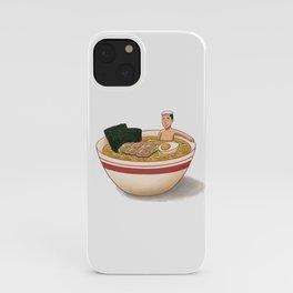 Ramen Bath iPhone Case