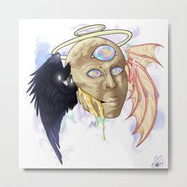 The Prophecy Giver Metal Print