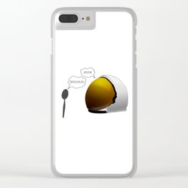 Spoon. Spacehead. Clear iPhone Case