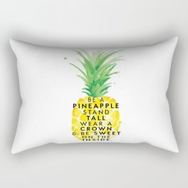 Be A Pineapple Rectangular Pillow
