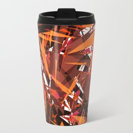 red & spiky Travel Mug