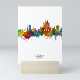 Lincoln England Skyline Mini Art Print