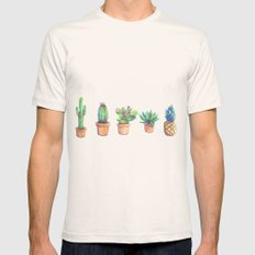 evolution cactus to pineapple Mens Fitted Tee Natural MEDIUM