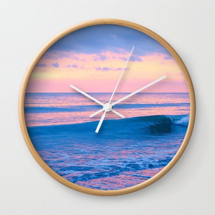 Mexico Sunset II Wall Clock