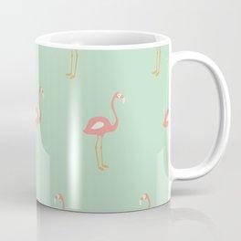 Flamingo Mint Pattern 009 Coffee Mug