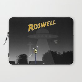 Aliens Over Roswell Laptop Sleeve