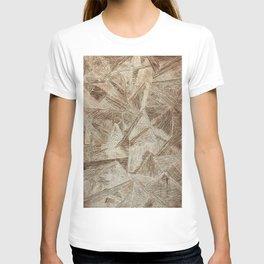 Crazy Lines Print T-shirt