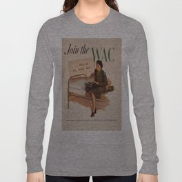 Vintage poster - WAC Long Sleeve T-shirt