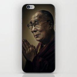 His Holiness The Dalai Lama iPhone Skin