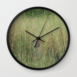 Playing hide and seek Wall Clock