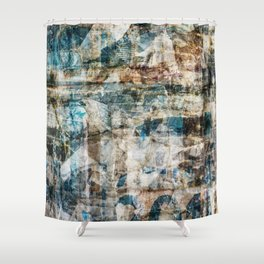 Torn Posters 1 Shower Curtain