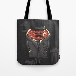 Steak out Tote Bag