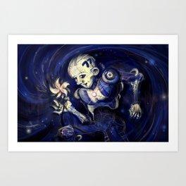 Pinwheel Nebula Art Print