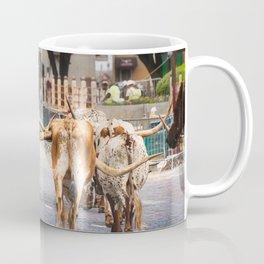 Cattle drive Coffee Mug