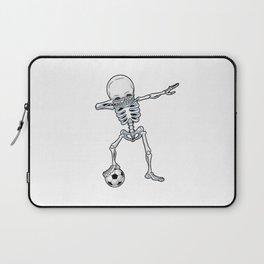 Dabbing Skeleton Skull - Dab Skull Laptop Sleeve