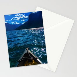 Canoeing Stationery Cards