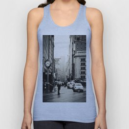 New York City - 5th Avenue in the Rain Unisex Tank Top