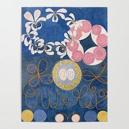 The Ten Largest No. 01 Childhood Group IV Hilma Af Klint Poster