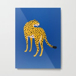 The Stare 2: Golden Cheetah Edition Metal Print