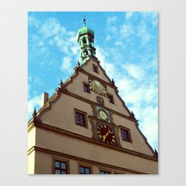 Rothenburg ob ter Tauber Canvas Print