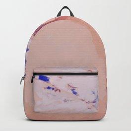 Bleu Royal arosé de rosé Backpack