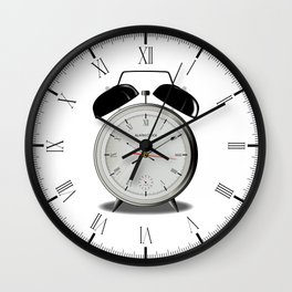 Alarm Clock Wall Clock