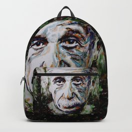 Albert Einstein - brainstorm Backpack