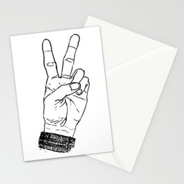 Peace Sign Stationery Cards