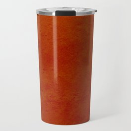concrete orange brown copper plain texture Travel Mug