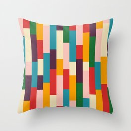 Classic Retro Empusa Throw Pillow