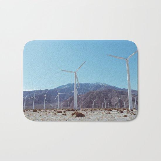 Palm Springs Windmills XI Bath Mat