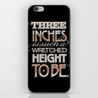 Wretched Height iPhone & iPod Skin