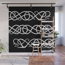 Urnes Style Ornament V Wall Mural