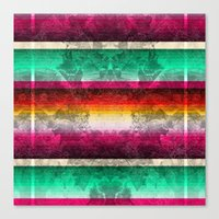 mexico Canvas Prints featuring Mexico by Joanna Tadger