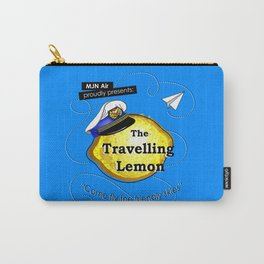 The Travelling Lemon Carry-All Pouch