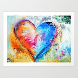The Patience of Love Art Print