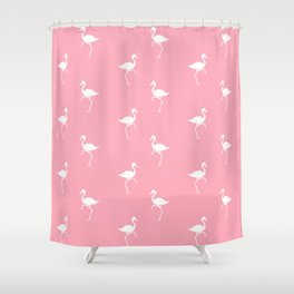 Flamingos Pattern Shower Curtain