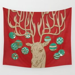 Fabulous Rudolph Wall Tapestry