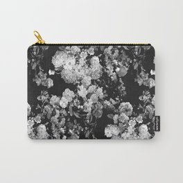 Through The Flowers // Floral Collage Carry-All Pouch