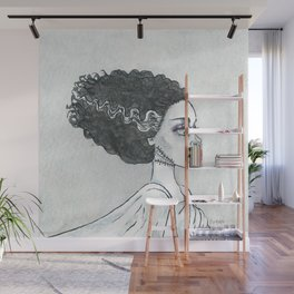 The (sweet) bride Wall Mural