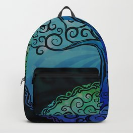Tree of Life - Cool Blue Backpack