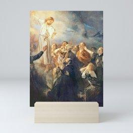 Fritz Von Uhde The Ascension of Christ 1897 Mini Art Print
