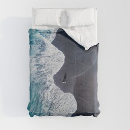 Beautiful Landscape Beach Comforters