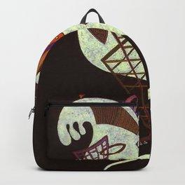 Wassily Kandinsky - White Figure Backpack