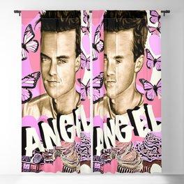 Angel Cupcake Blackout Curtain