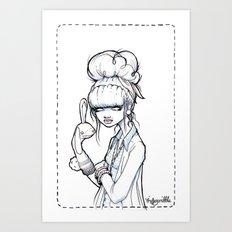 The Puppet Master Art Print