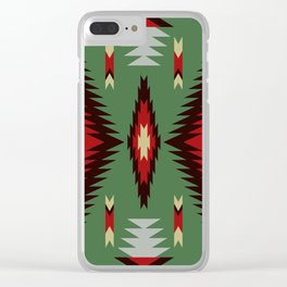 Indian Designs 97 Clear iPhone Case
