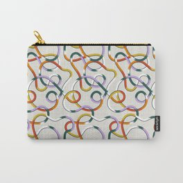 A long yarn Carry-All Pouch